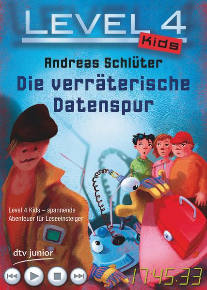 Level 4 Kids - Die verräterische Datenspur - Coverbild