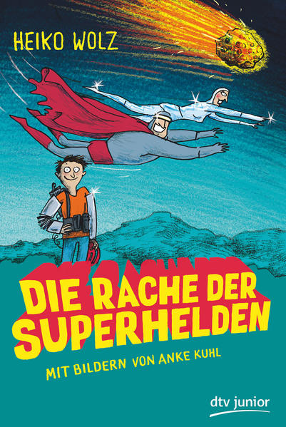 Die Rache der Superhelden - Coverbild