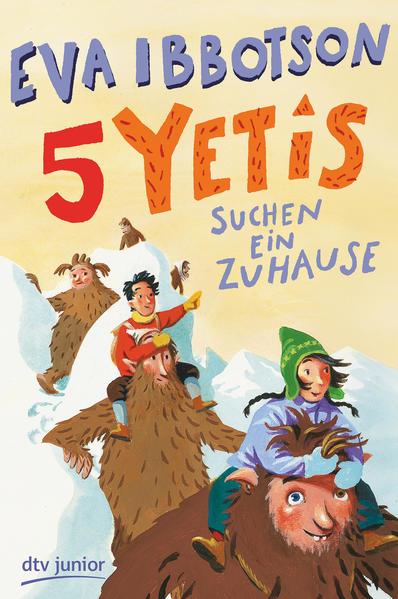 Fünf Yetis suchen ein Zuhause - Coverbild