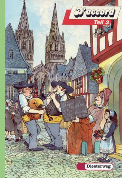D'accord. Französisches Unterrichtswerk für Gymnasien und entsprechende... / D'accord - Coverbild