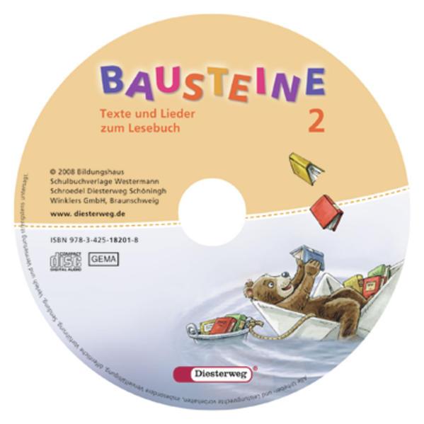 BAUSTEINE Lesebuch / BAUSTEINE Lesebuch - Ausgabe 2008 - Coverbild