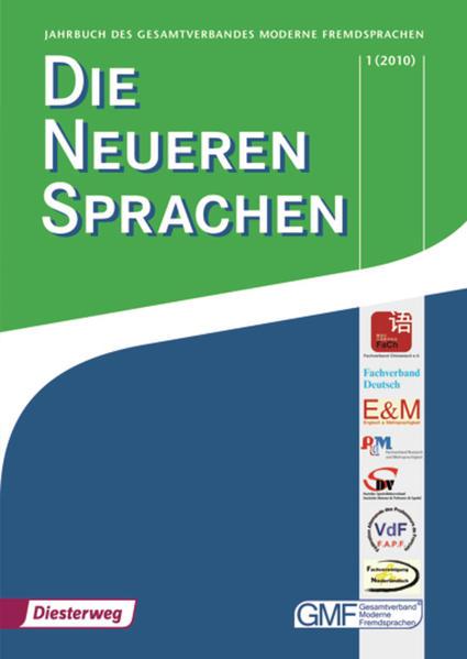 Die Neueren Sprachen / Die Neueren Sprachen - Coverbild