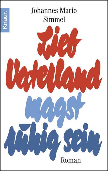 Lieb Vaterland magst ruhig sein - Coverbild