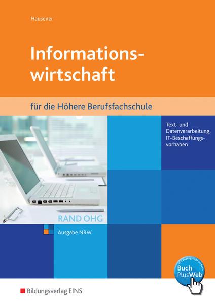 Informationswirtschaft RAND OHG / Informationswirtschaft RAND OHG für die Höhere Berufsfachschule - Coverbild
