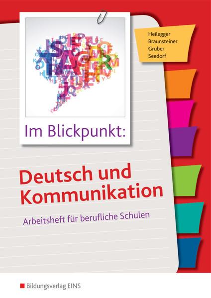 Im Blickpunkt: Deutsch und Kommunikation - Coverbild