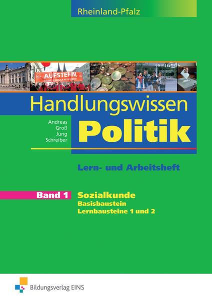 Handlungswissen Politik Rheinland-Pfalz / Handlungswissen Politik Rheinland-Pfalz - Coverbild