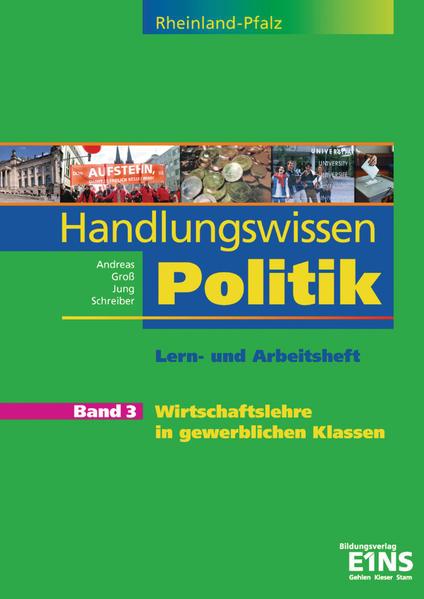 Handlungswissen Politik Rheinland-Pfalz / Handlungswissen Politik für Rheinland-Pfalz - Coverbild