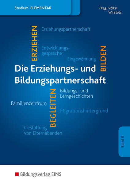 Studium im Elementarbereich / Erziehungs- und Bildungspartnerschaft im Elementarbereich - Coverbild