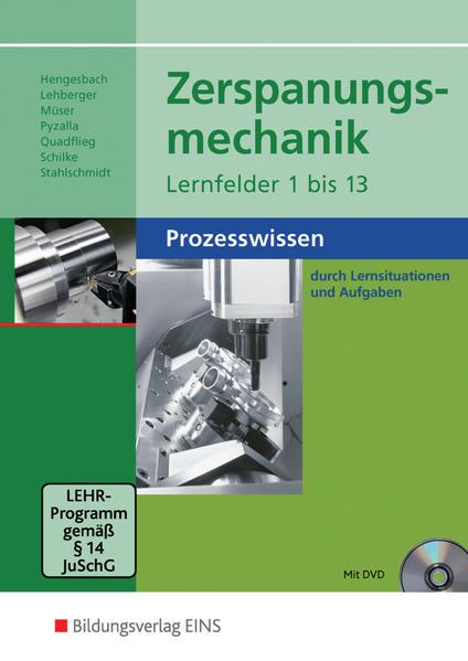 Zerspanungsmechanik / Zerspanungsmechanik - Coverbild