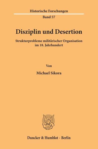 Disziplin und Desertion. - Coverbild