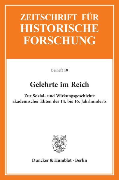 Gelehrte im Reich. - Coverbild