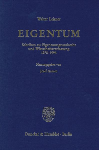 EIGENTUM. - Coverbild