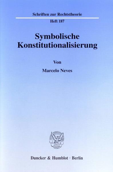 Symbolische Konstitutionalisierung. - Coverbild