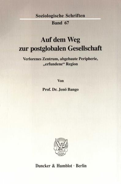 Auf dem Weg zur postglobalen Gesellschaft. - Coverbild