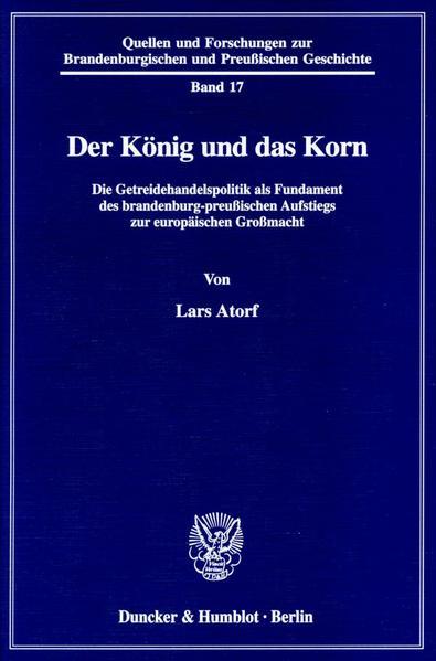 Der König und das Korn. - Coverbild