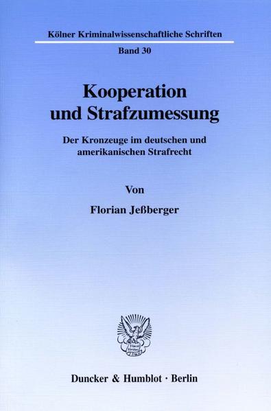 Kooperation und Strafzumessung. - Coverbild
