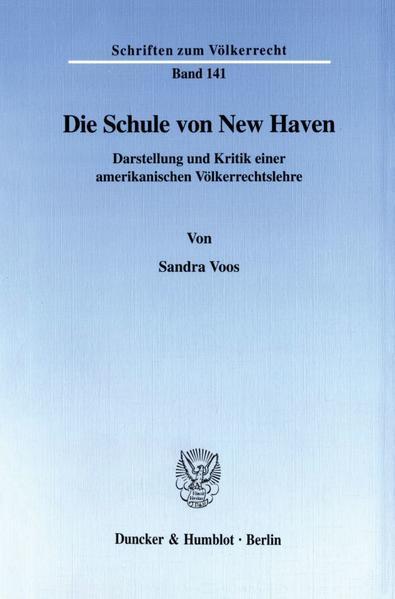 Die Schule von New Haven. - Coverbild