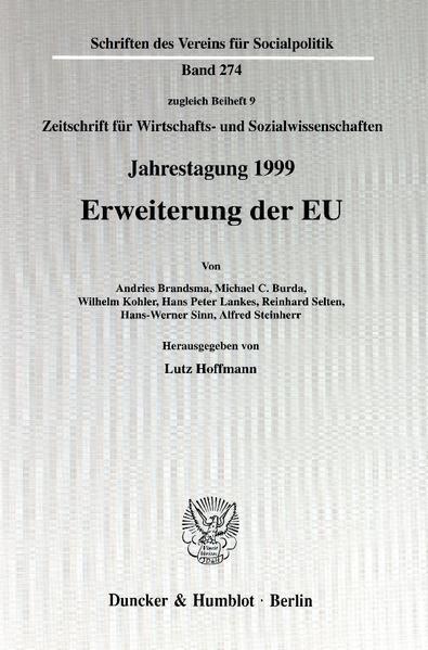 Erweiterung der EU. - Coverbild