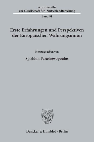 Erste Erfahrungen und Perspektiven der Europäischen Währungsunion. - Coverbild