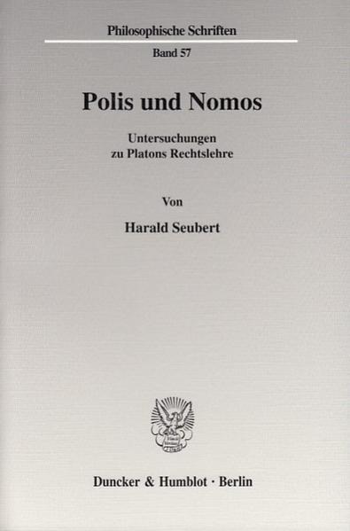 Download PDF Kostenlos Polis und Nomos.