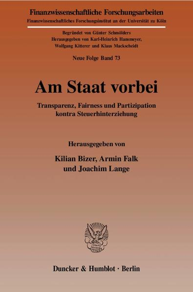 Am Staat vorbei. - Coverbild