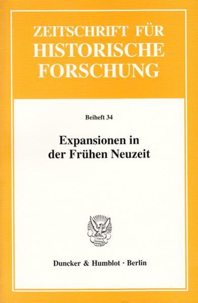 Expansionen in der Frühen Neuzeit. - Coverbild