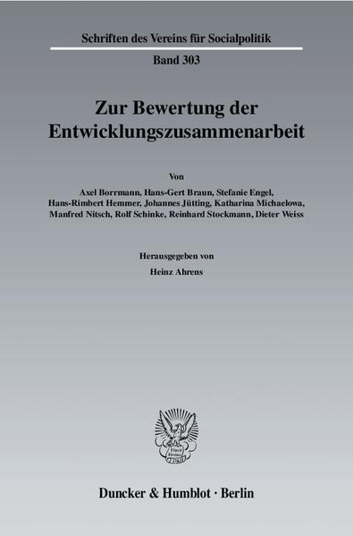 Online-Handbücher als PDF herunterladen «Zur Bewertung der Entwicklungszusammenarbeit.»