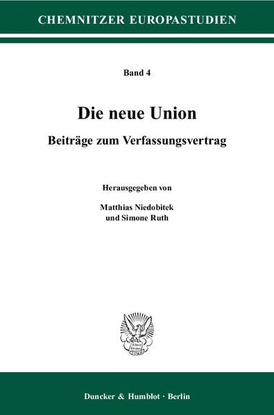 Die neue Union. - Coverbild