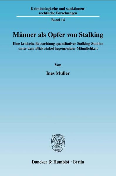 Männer als Opfer von Stalking. - Coverbild