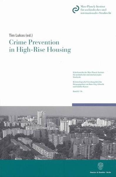 Crime Prevention in High-Rise Housing. - Coverbild