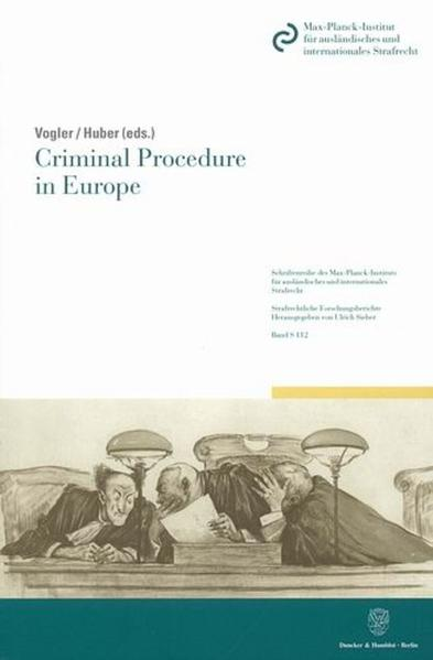 Criminal Procedure in Europe. - Coverbild