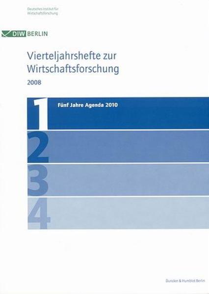 Fünf Jahre Agenda 2010. - Coverbild