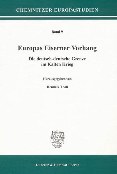 Europas Eiserner Vorhang. - Coverbild