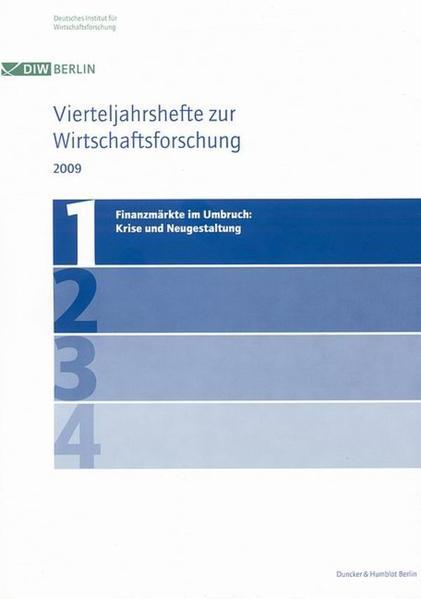 Finanzmärkte im Umbruch: Krise und Neugestaltung. - Coverbild