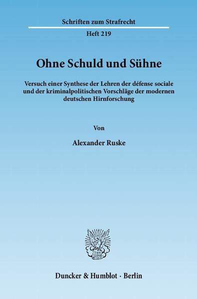 Ohne Schuld und Sühne. - Coverbild