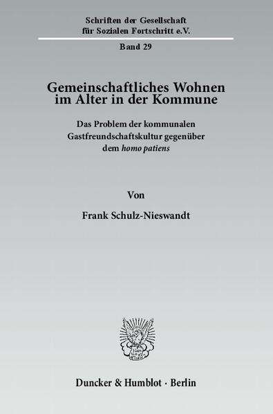 Gemeinschaftliches Wohnen im Alter in der Kommune. - Coverbild