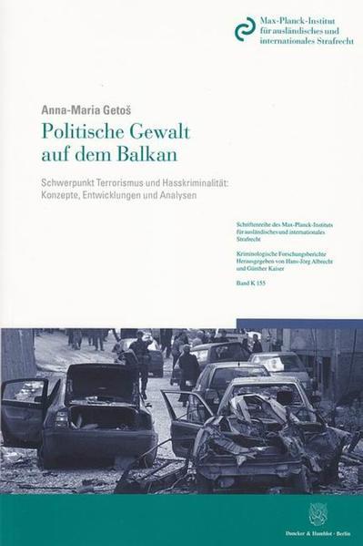 Politische Gewalt auf dem Balkan. - Coverbild