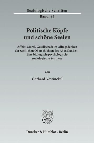 Politische Köpfe und schöne Seelen. - Coverbild