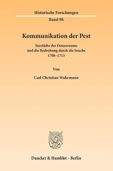 Kommunikation der Pest. - Coverbild