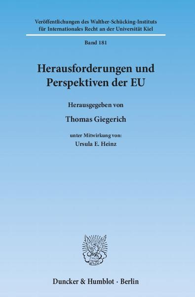 Herausforderungen und Perspektiven der EU. - Coverbild
