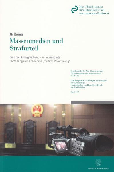Massenmedien und Strafurteil. - Coverbild