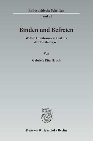 Binden und Befreien. - Coverbild