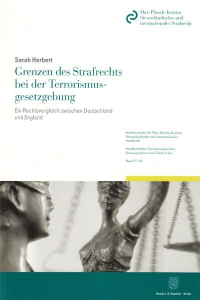 Grenzen des Strafrechts bei der Terrorismusgesetzgebung. - Coverbild