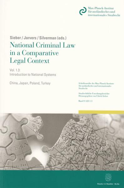 National Criminal Law in a Comparative Legal Context. - Coverbild
