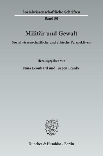Militär und Gewalt. - Coverbild