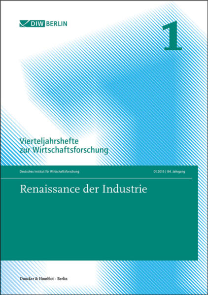 Renaissance der Industrie. - Coverbild