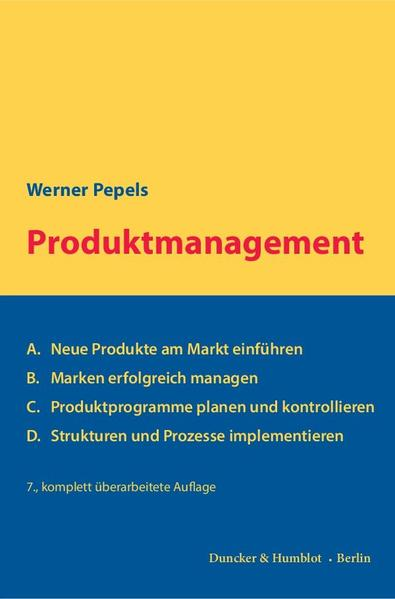 Produktmanagement. - Coverbild