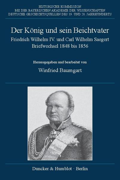 Der König und sein Beichtvater. - Coverbild