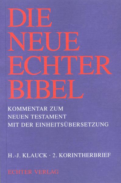 Die Neue Echter-Bibel. Kommentar / Kommentar zum Neuen Testament mit Einheitsübersetzung. Gesamtausgabe / 2. Korintherbrief - Coverbild