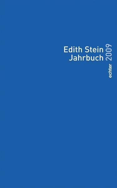 Edith Stein Jahrbuch - Coverbild